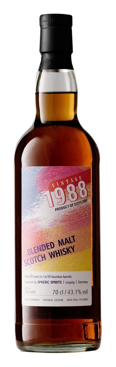 Spheric Spirits Vintage 1988 Blended Malt