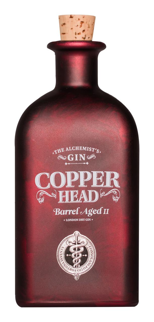 Copperhead Gin Barrel Aged v.2