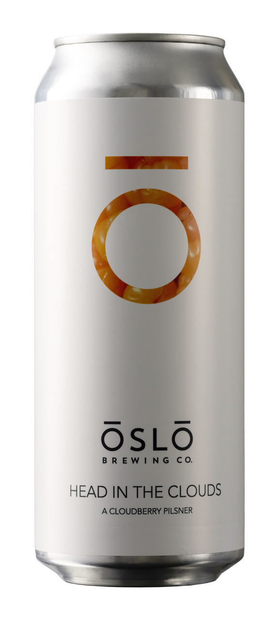 Oslo Brewing Head in the Clouds Pilsner