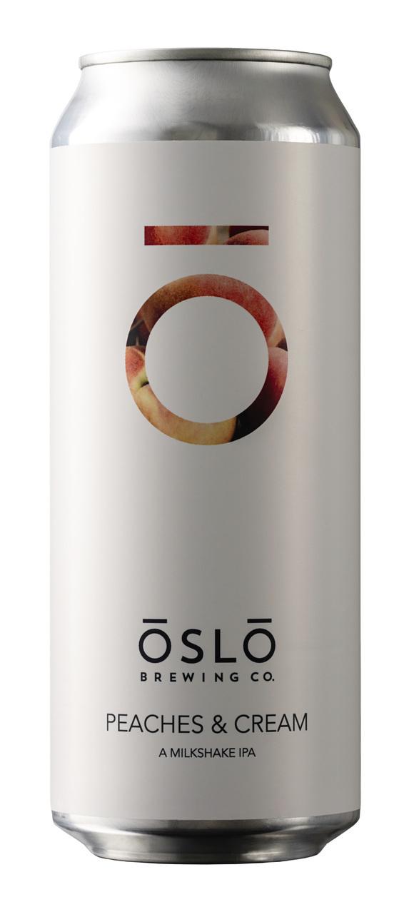 Oslo Brewing Peaches & Cream IPA