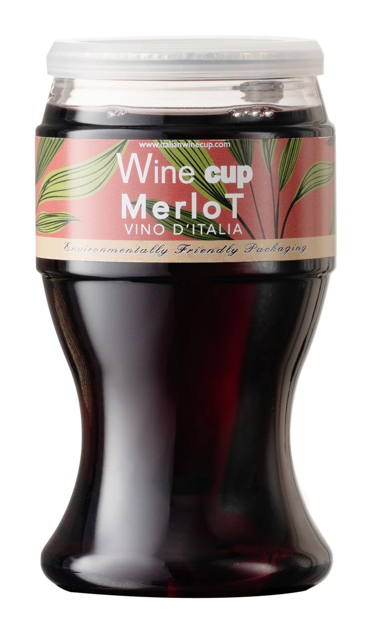 Wine Cup Merlot