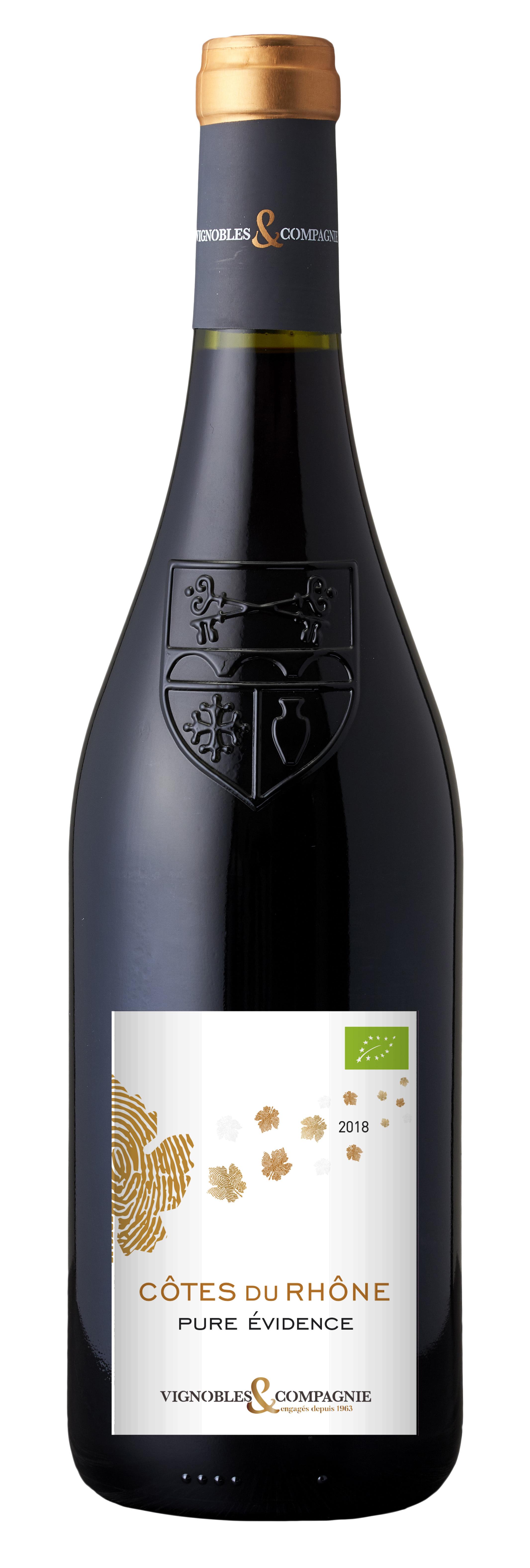 Pure Evidénce Côtes du Rhône (Økologisk)