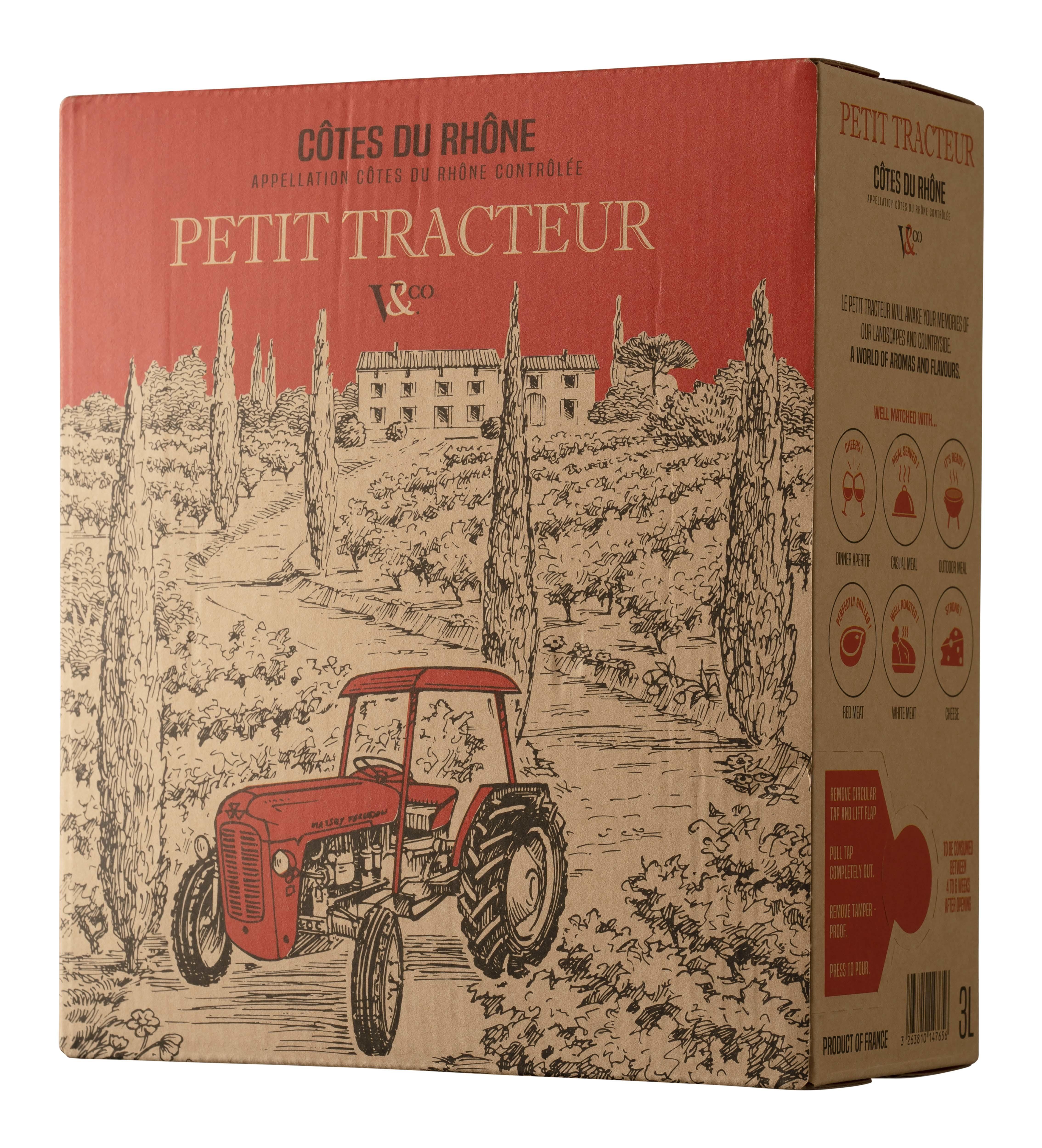Petit Tracteur Côtes du Rhône