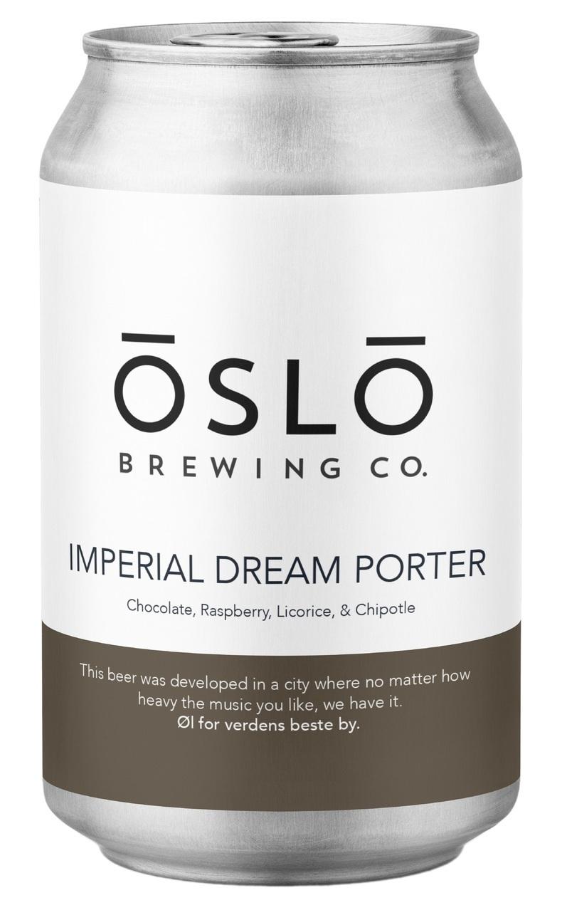 Oslo Brewing Co Imperial Dream Porter