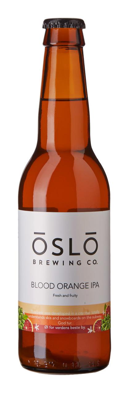 Oslo Brewing Blood Orange IPA