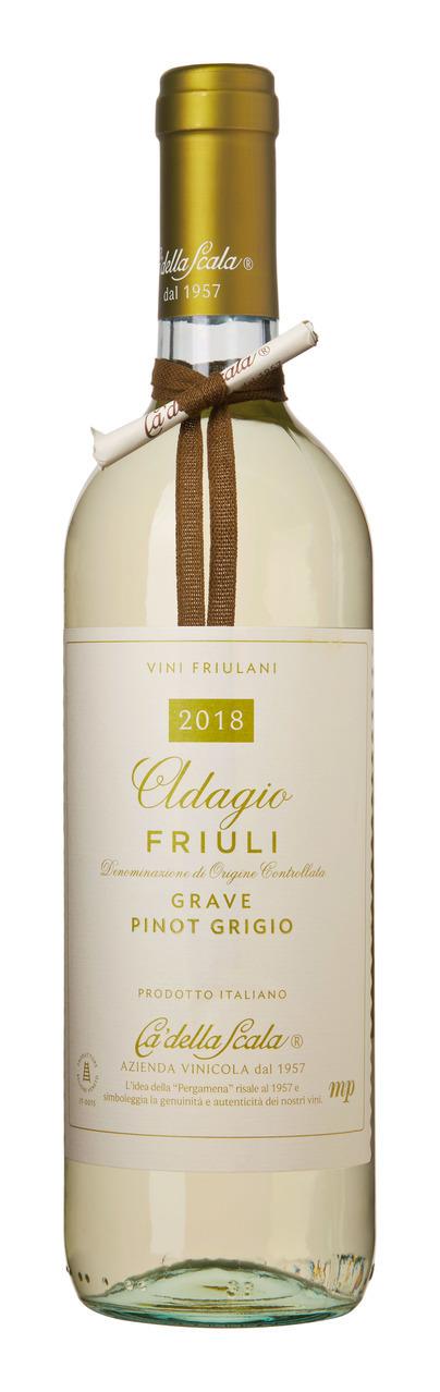 Ca'della Scala Adagio Pinot Grigio