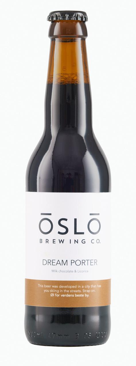 Oslo Brewing Dream Porter