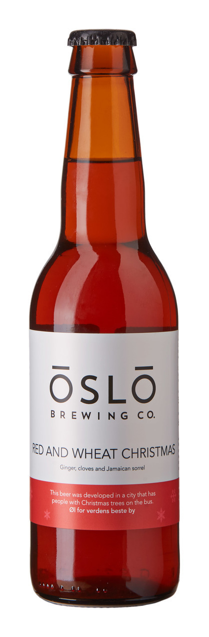 Oslo Brewing Red and Wheat Christmas