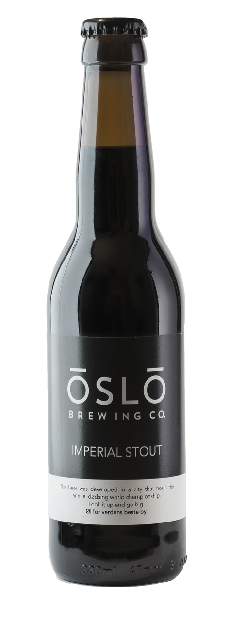 Oslo Brewing Co Imperial Stout
